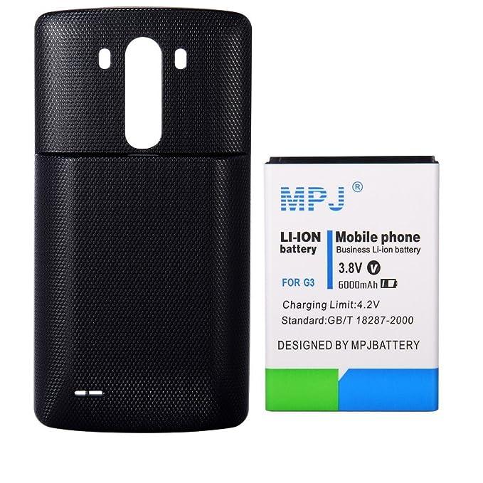 MPJ 6000 mAh Li-ion batería alta capacidad BL-53YH para LG ...