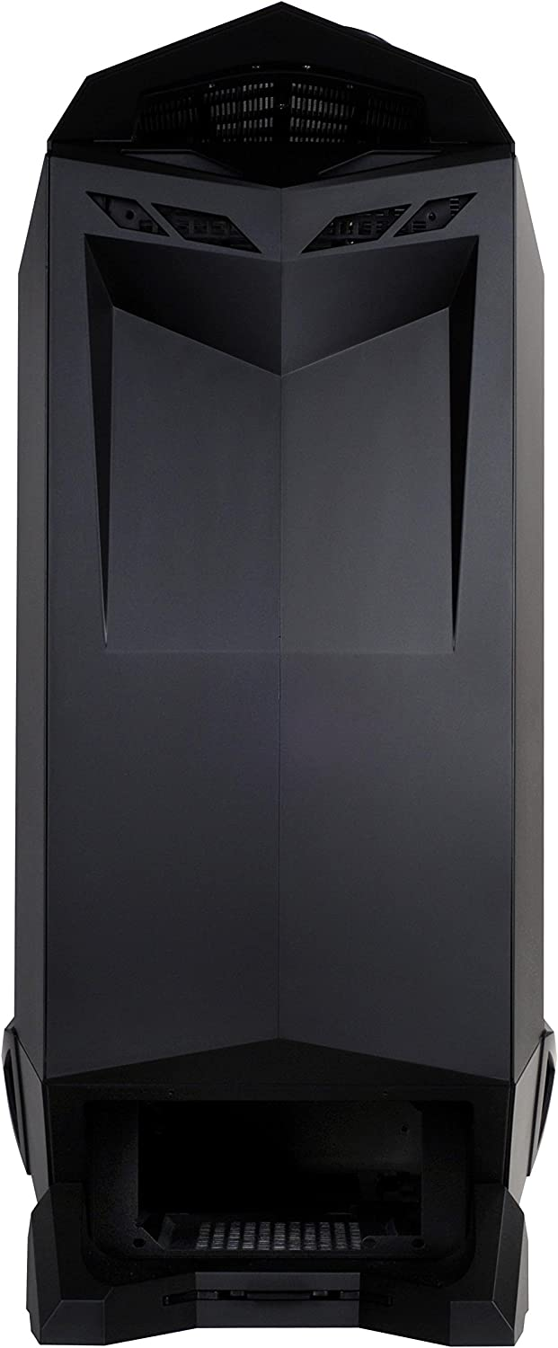 SilverStone Technology SST-RV01B-3.0-USA Full Tower Gaming Computer Case with 90 Degree ATX Motherboard Rotation RV01B-W-3.0 Cases