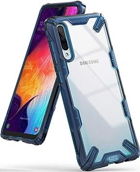 Ringke Fusion-X Diseñado para Funda Samsung Galaxy A50, Funda Galaxy A50s, Funda Galaxy A30s, Protección Resistente Impactos TPU + PC Carcasa Galaxy ...