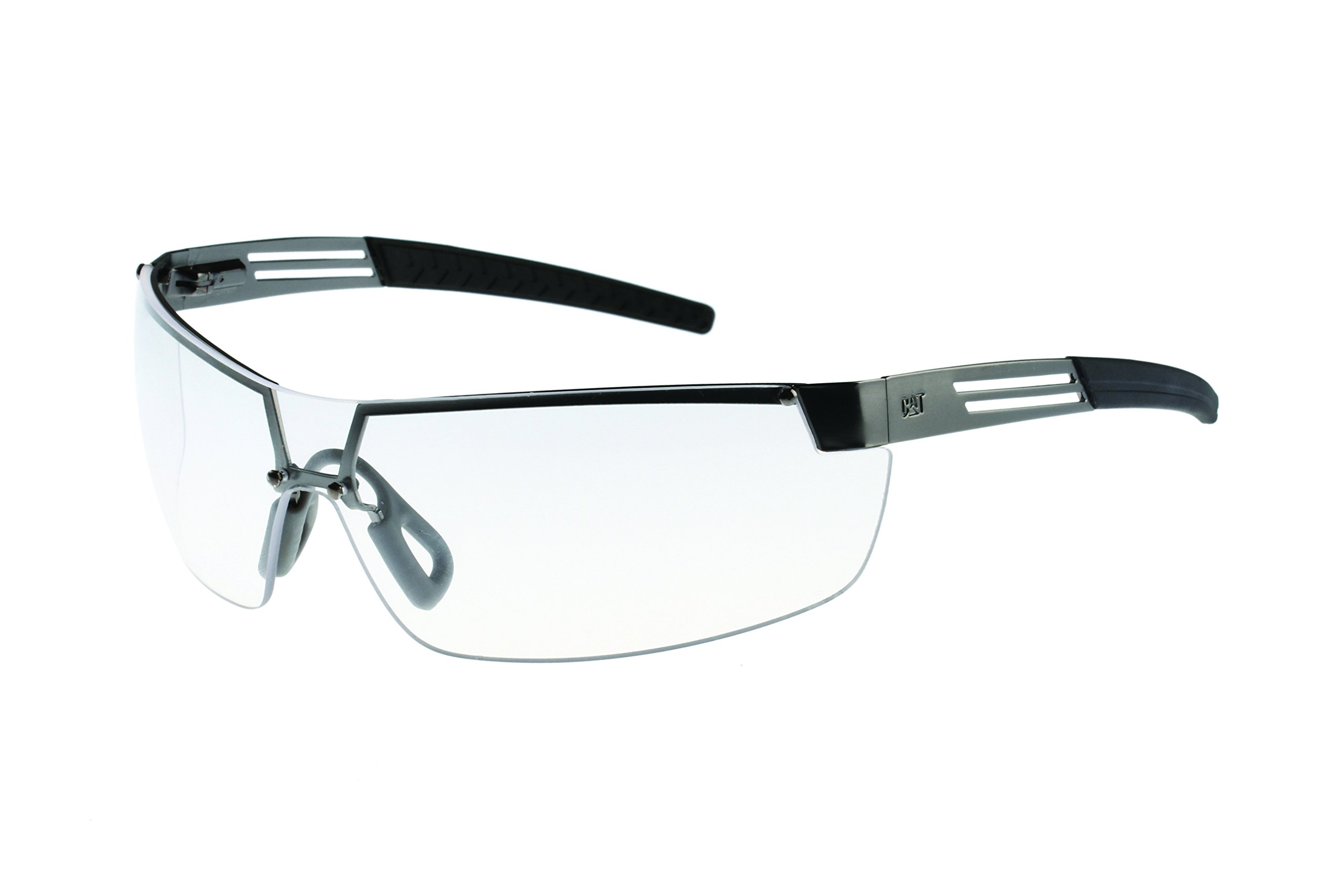 Caterpillar CSA-GUARD-100 Filter Category 2-1.3 Clear Lens Safety Glasses, Small