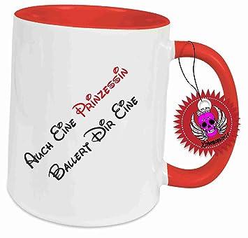 Tasse Mit Spruch Auch Eine Prinzessin Ballert Dir Eine Geschenk