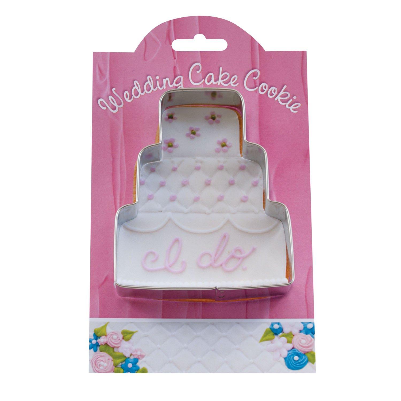 Amazon.com: Wedding Cake Cookie and Fondant Cutter - Ann Clark - 4.1 ...