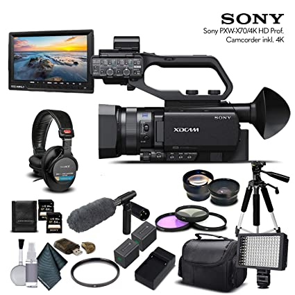 Amazon.com: Sony PXW-X70 - Videocámara compacta profesional ...