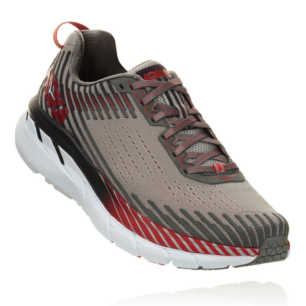 Hoka One One Clifton 5 Running Schuhes Men Alloy/Steel grau Schuhgröße US 8 | EU 41 1/3 2018 Laufsport Schuhe