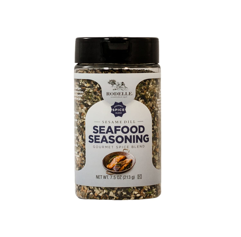 amazon com rodelle seafood seasoning sesame dill 7 8 ounce