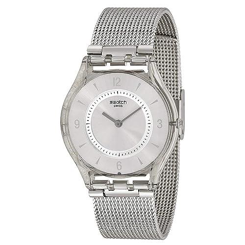 Swatch Reloj Mujer Skin Classic Metal Knit SFM118 M