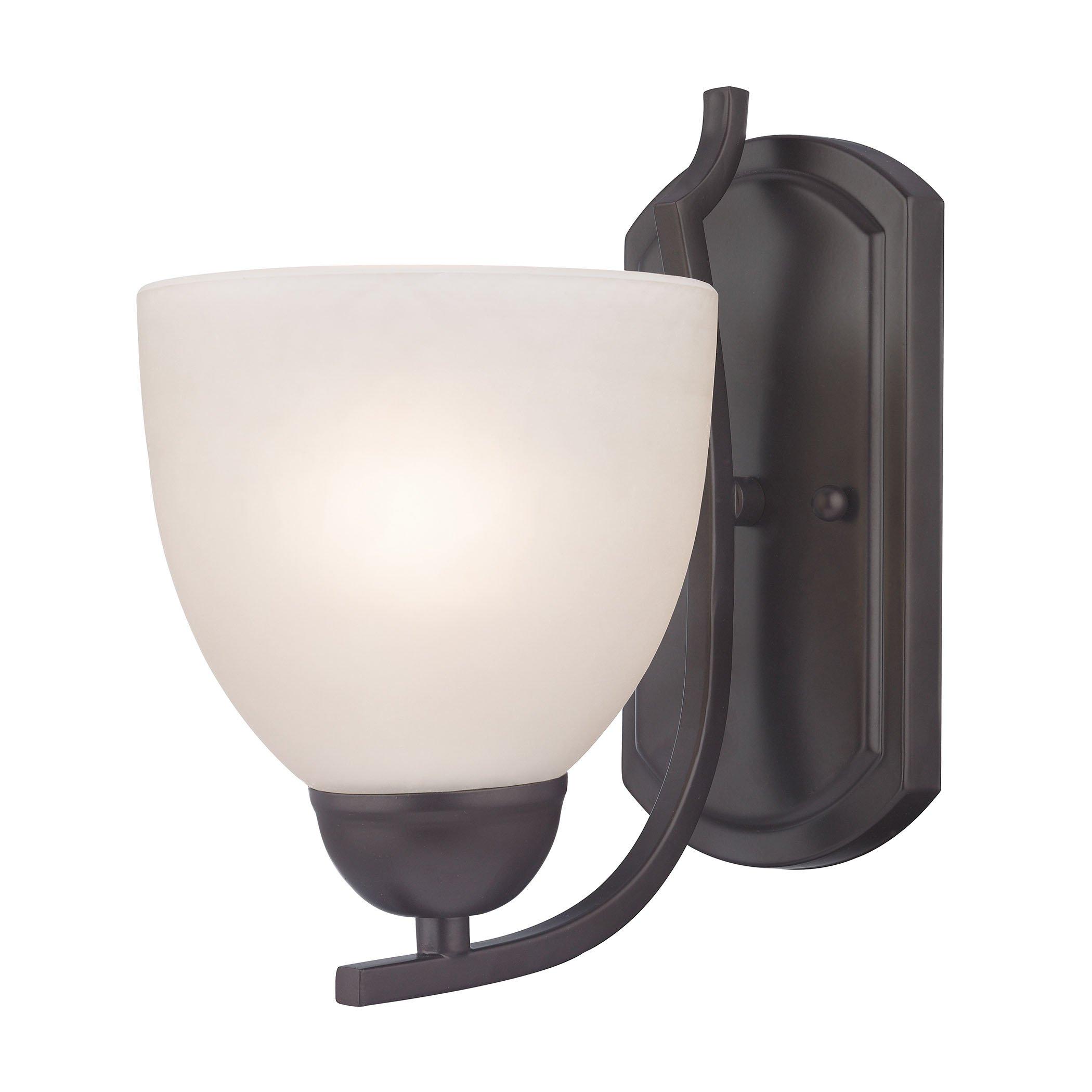 Cornerstone Lighting 1451WS/10 Kingston 1 Light Sconce, Oil Rubbed Bronze