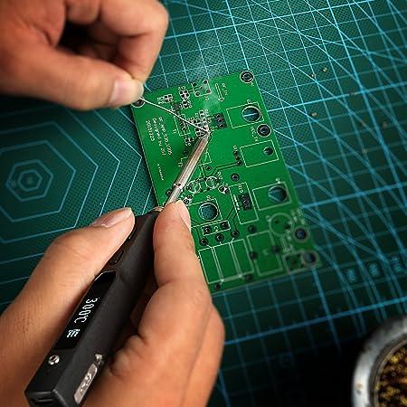 SainSmart TS-100 - estación de soldadura programable, con interfaz, Pro32 Digital OLED: Amazon.es: Industria, empresas y ciencia