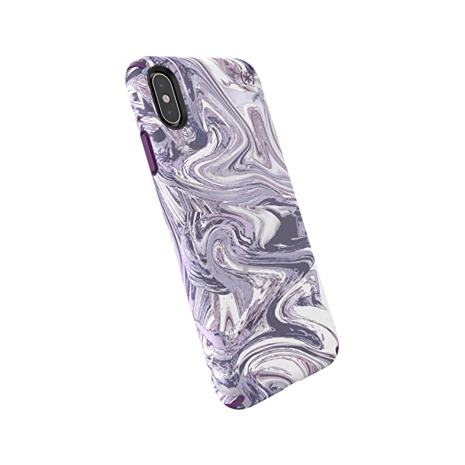 Funda para iPhone XS MAX, con Tinta Presidio, Color Lila ...