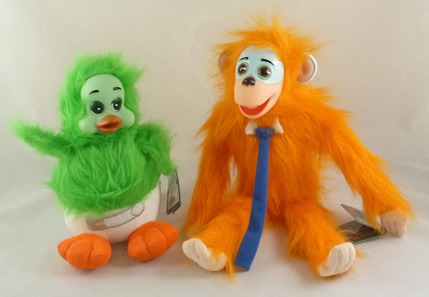 Keith Harris's Orville + Cuddles Soft Toys - Set Of 2