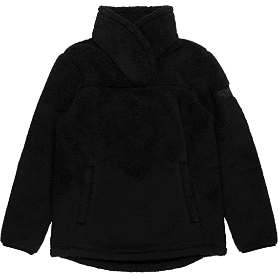 87bad7339 THE NORTH FACE Youth Girls' Campshire Fleece Pullover (Black, M 10 ...