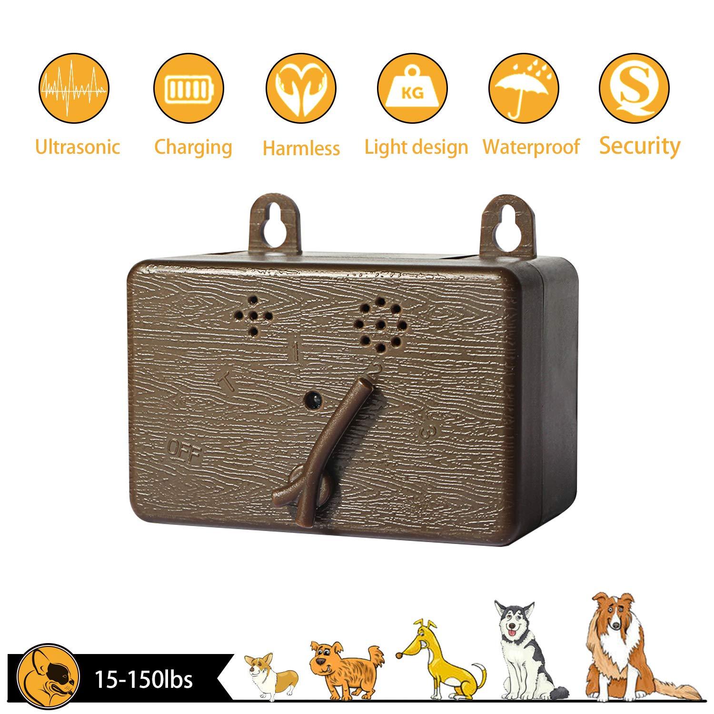 Yao yeow Outdoor - Ultrasound Anti Barking Device  (Brown)