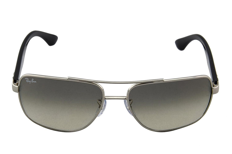 ccdde40b052 Ray-Ban 3483 003 32 Black 3483 Aviator Sunglasses  Amazon.co.uk  Clothing