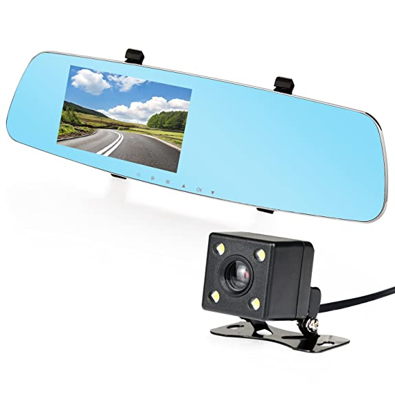 Amazon Com Nexgadget Dash Cam 5 0 170 Wide Angle Full Hd 1080p