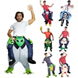 Carry Me Piggy Back Piggyback Funny Costume Unisex - With Stuff Your Own Legs
