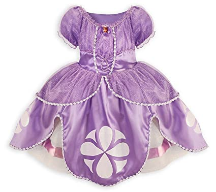 Amazon.com: Disney Sofia the First Dress Costume for Girls Small 5 ...