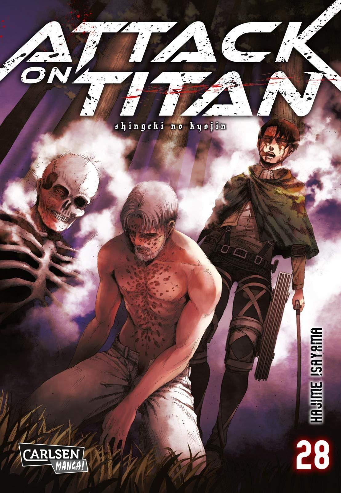 Attack on Titan 28: Amazon.es: Isayama, Hajime, Peter, Claudia: Libros en idiomas extranjeros