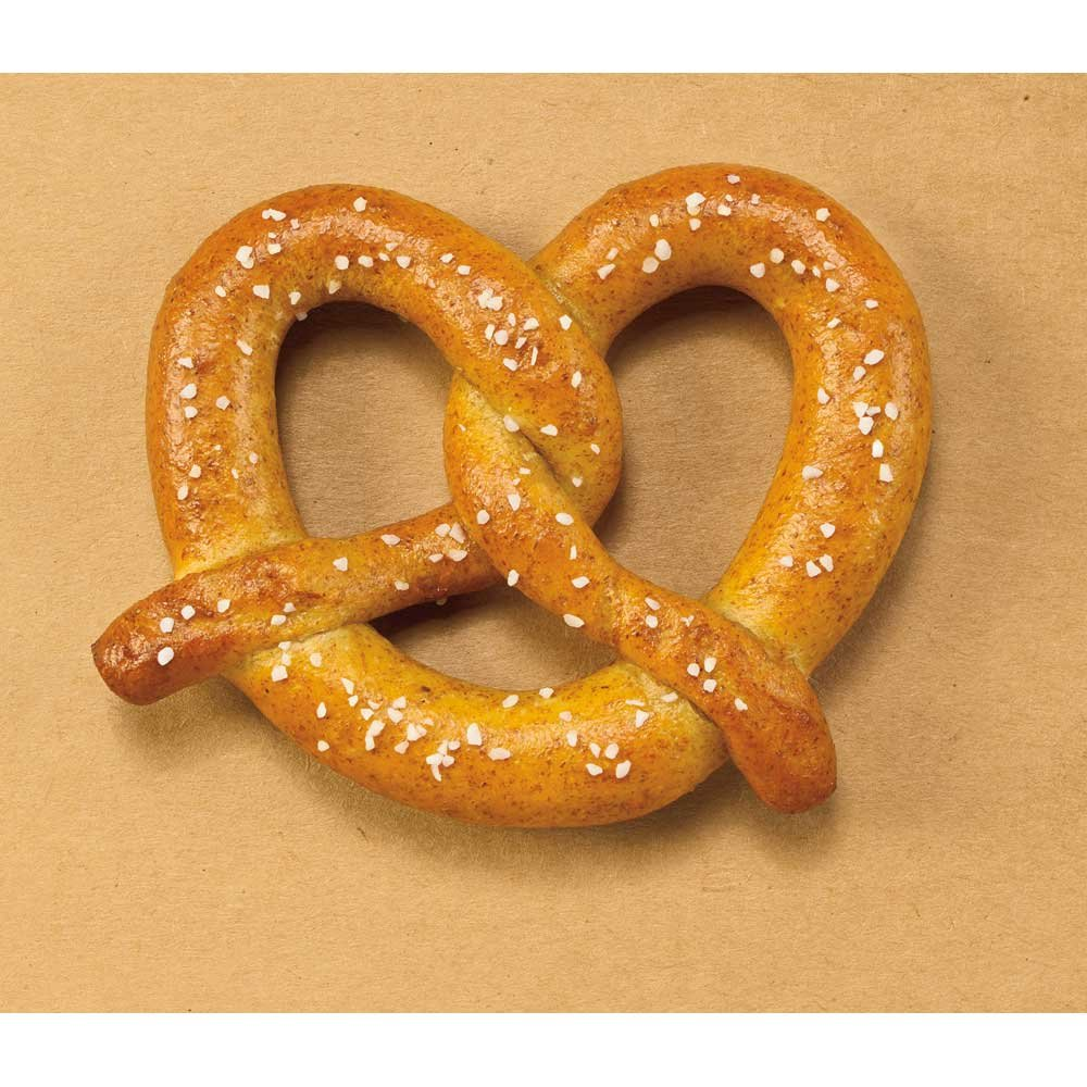 J and J Snack Super Whole Wheat Soft Pretzel, 2.5 Ounce -- 100 per case. by J and J Snack Foods (Image #1)