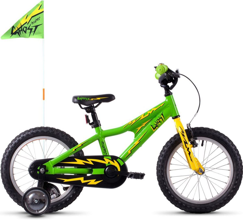 Ghost Powerkid AL 16 - Bicicletas para niños - Amarillo/Verde 2019 ...