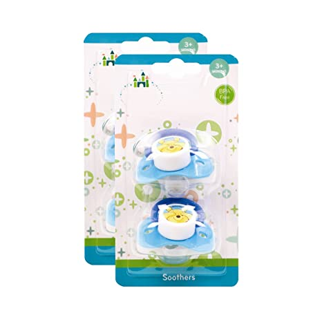 BPA libre del niño soothers Pacifiers 2 chupetes con ...
