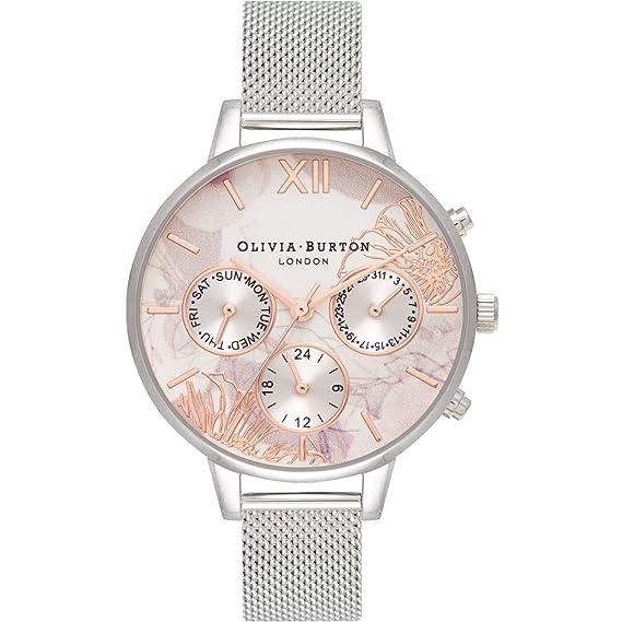Olivia Burton OB16CGS06 - Reloj abstracto de flores