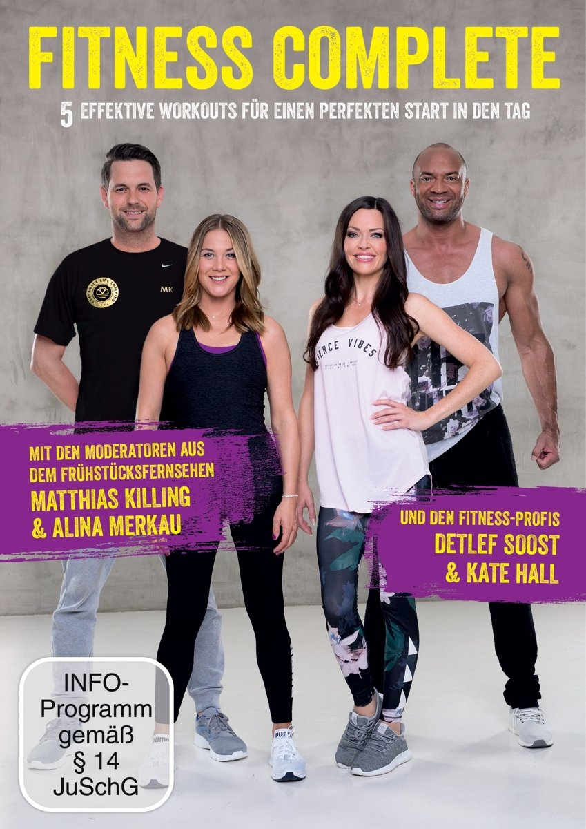 Cover: DVD Fitness Complete