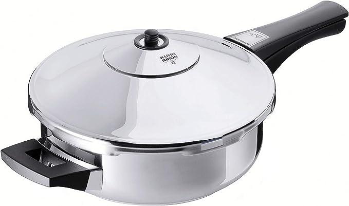 KUHN RIKON, Olla a presión tartera super rápida con mango DUROMATIC Inox, 2.5 Litros, 24 cm: Amazon.es: Hogar