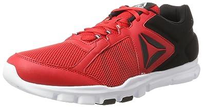 08df8497eb88cf Reebok Men s Yourflex Train 9.0 Mt Gymnastics Shoes  Amazon.co.uk ...