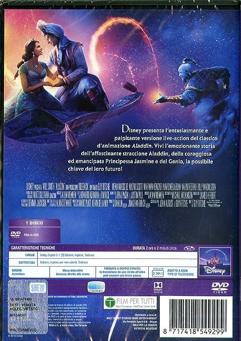 Aladdin (Live Action) [Italia] [DVD]: Amazon.es: Gigi Proietti ...