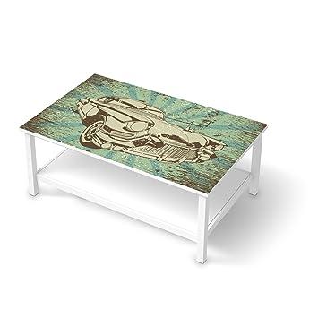 Couchtisch ikea hemnes  creatisto Möbel-Tattoo für IKEA Hemnes Couchtisch 118x75 cm | Deko ...