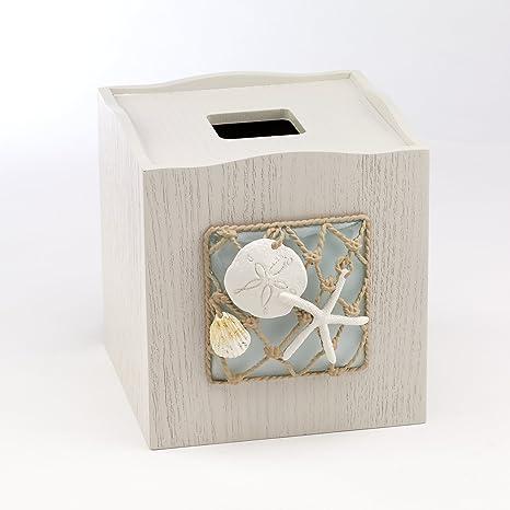 Amazon.com: Avanti Linens 13675emul Seaglass Tissue Cover ...