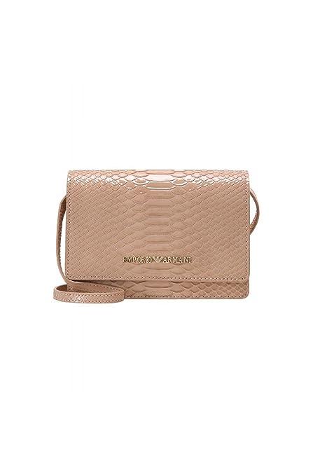 buy good fashion style various design Amazon.com: Emporio Armani Y3B086 YH26A 80086 Nude Clutch ...