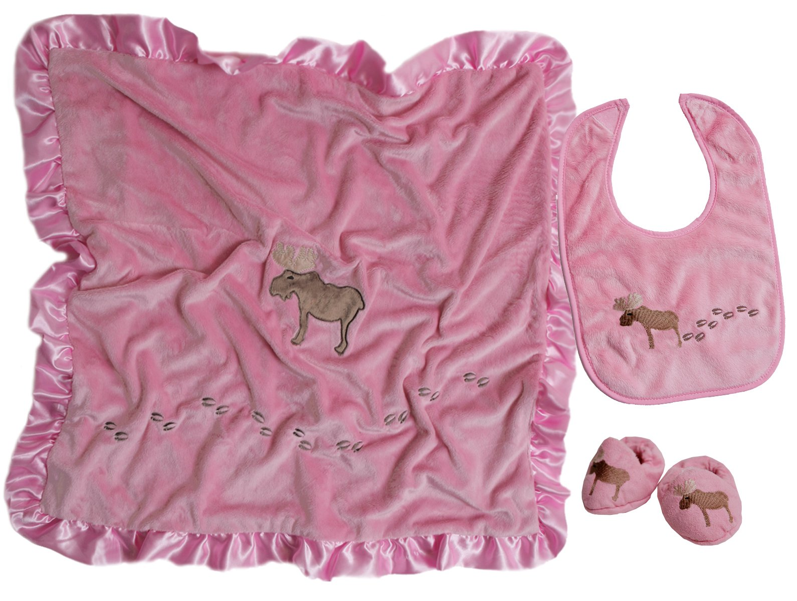 Carstens Moose Boxed Baby-Gift-Sets, Pink