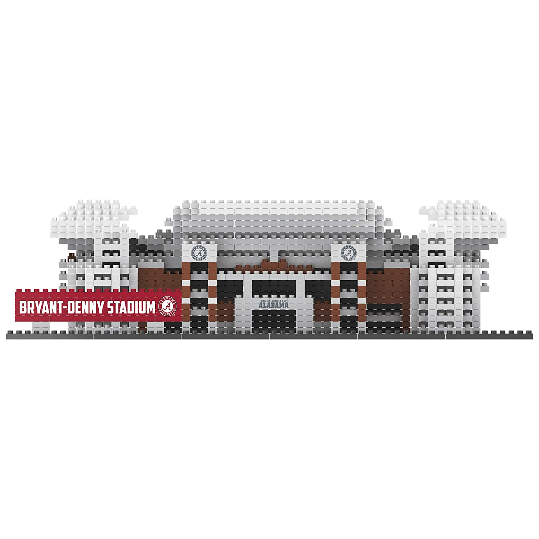 463900b6e1f Amazon.com   FOCO NCAA Alabama Crimson Tide 3D Brxlz Stadium Building Block  Set3D Brxlz Stadium Building Block Set
