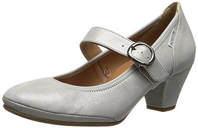8816123e30 Mephisto Women's Philippa Dress Pumps, Grey, Leather, Rubber, ...