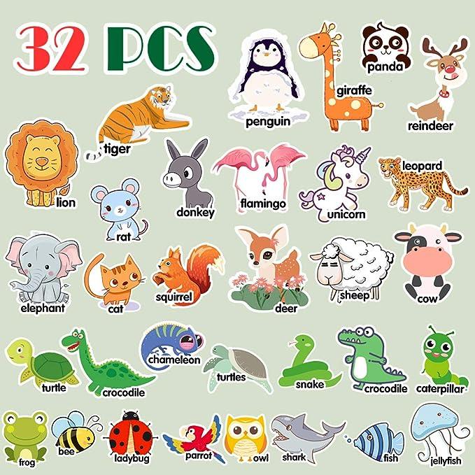 Amazon.com: Imanes de alfabeto de Amosting, para niños ...