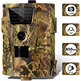 CAMVILD Trail Camera 12MP 1080P Ultralight Hunting Camera with Night Vision 100ft Wildlife Camera