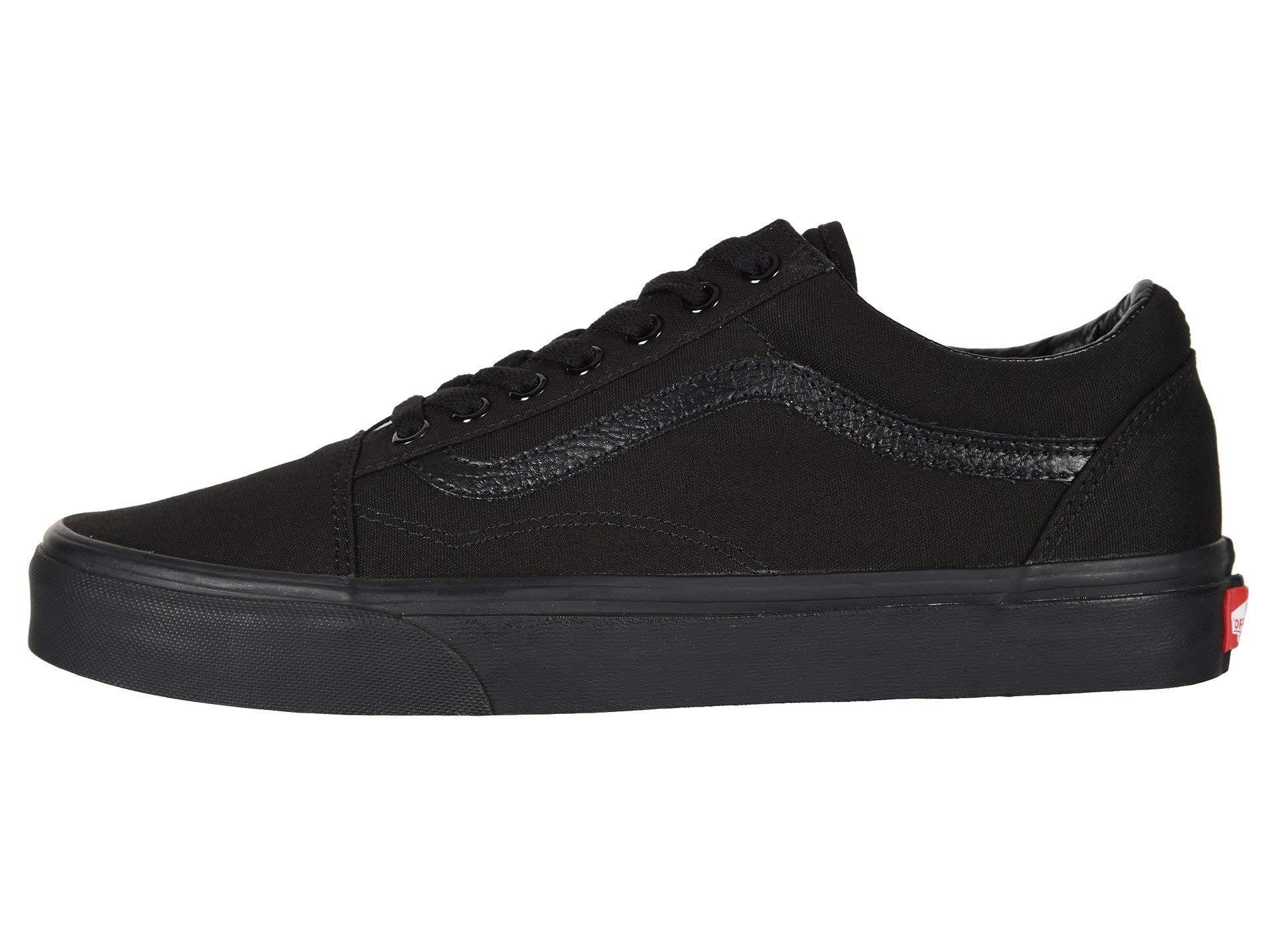 Vans Old Skool Black/Black Size 6 M US Women / 4.5 M US Men by Vans (Image #4)