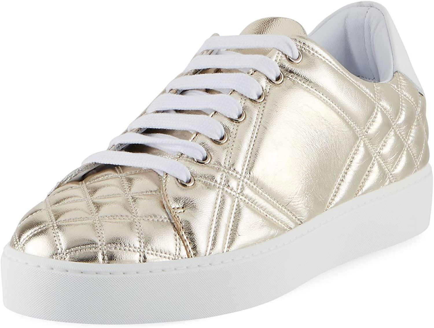 BURBERRY Westford Quilted Metallic
