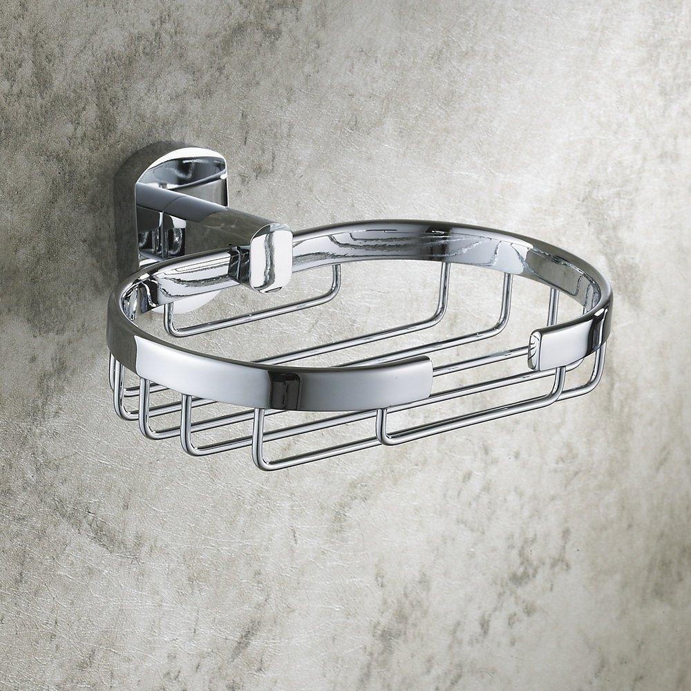 Hiendure 4-Piece Bathroom Accessory Set with 23 Towel Bar, Towel Hook, Towel Rack, Toilet Paper Holder, Chrome Home built