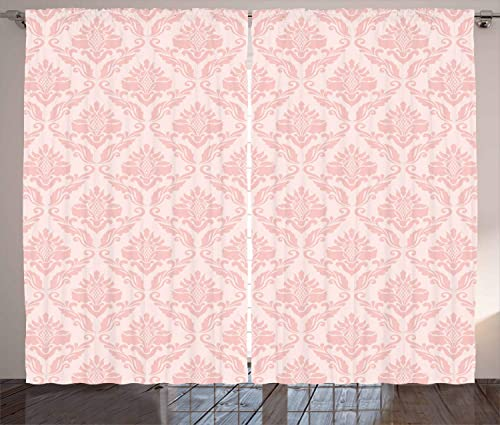 Lunarable Blush Curtains