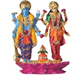 Divine Gifts Laxmi Narayan idols, statues for home décor