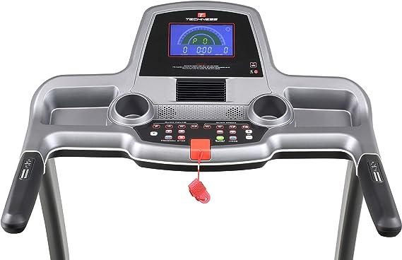 Techness Cinta de Correr Plegable e inclinable T1100 MP3: Amazon ...