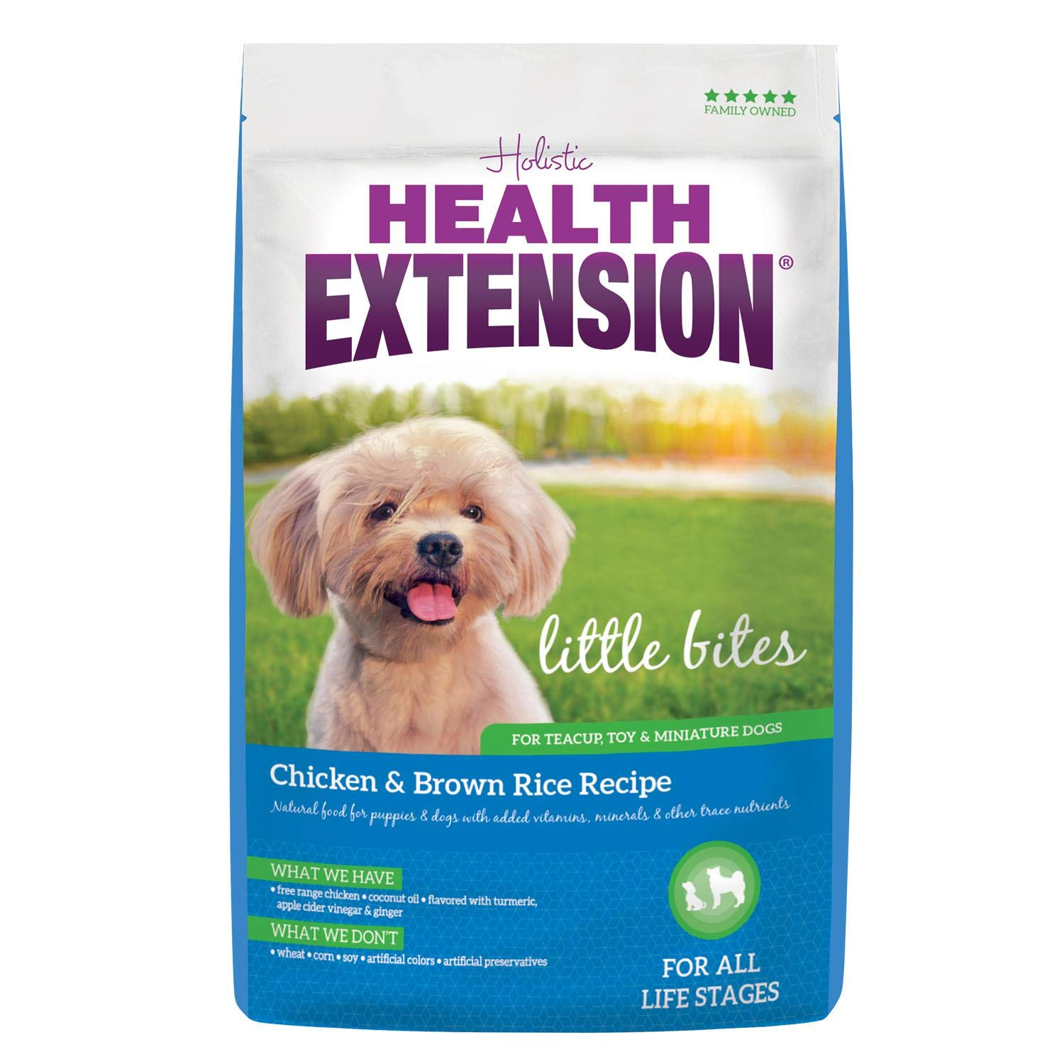 Health Extension, Little Bites Chicken & Brown Rice Recipe, 18-Pound by Health Extension