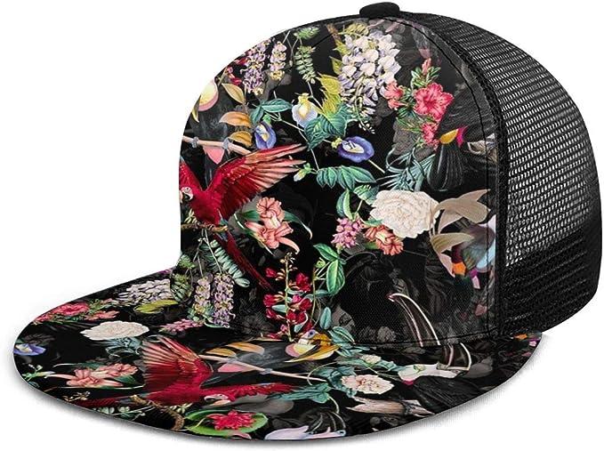 Gorra de béisbol FlMouth y Aves del Modelo de Flores Gorras de ...