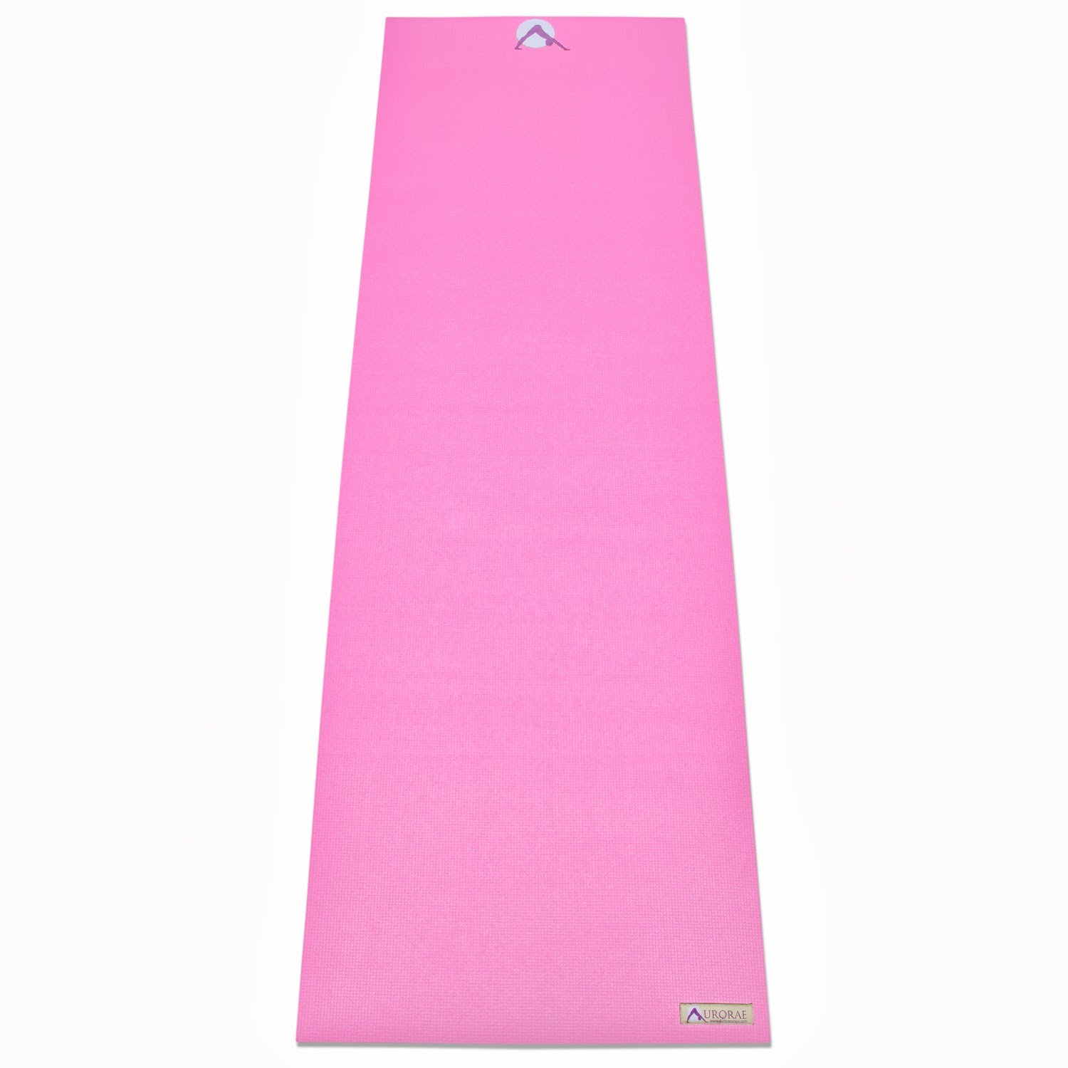 Aurorae Classic/Printed Extra Thick and Long 72'' Premium Eco Safe Yoga Mat with Non Slip Rosin Included