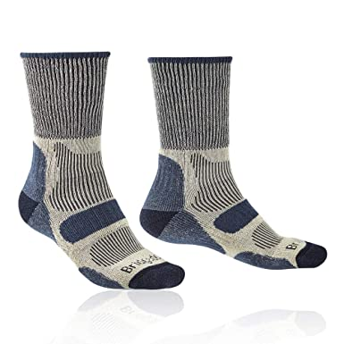 3419212b8503a Image Unavailable. Image not available for. Colour: Bridgedale Men's Hike  lightweight Merino Comfort Socks