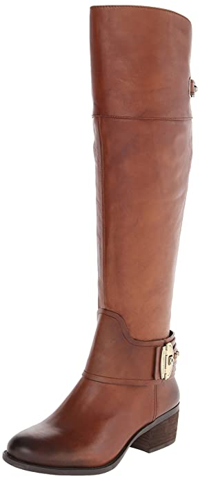 Amazon.com | Vince Camuto Women's Beatrix-Wide Harness Boot with ...