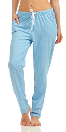 91023b690344 Damen Pyjama Hose lang- Mix   Match - unifarben- ideal zum kombinieren 222  90