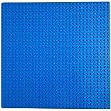 Toamen Education Toy, 32 * 32cm Kids Compatible Baseplates Base Plate Granule Block Building Blocks Toys (Dark Blue)